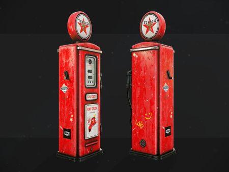 Vintage Gas Pump