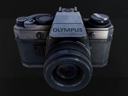 Retro Camera Props