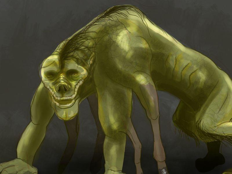 Creature Concept Art