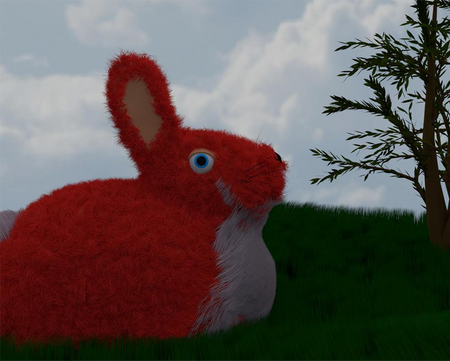 Red Bunny