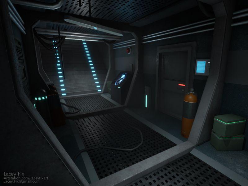 Submarine Hallway