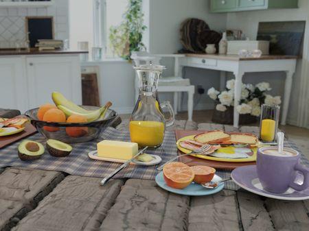 Sunday Breakfast (First Render)