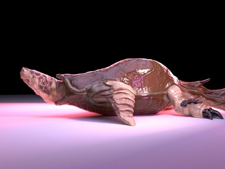 Unreal  Engine Animated Creature: Prehistoric Turtle