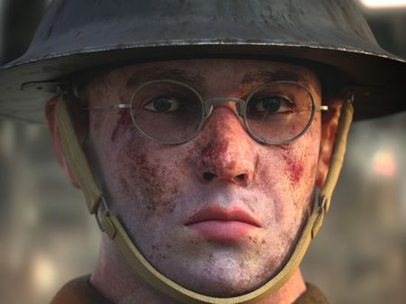 WW2 British Soldier