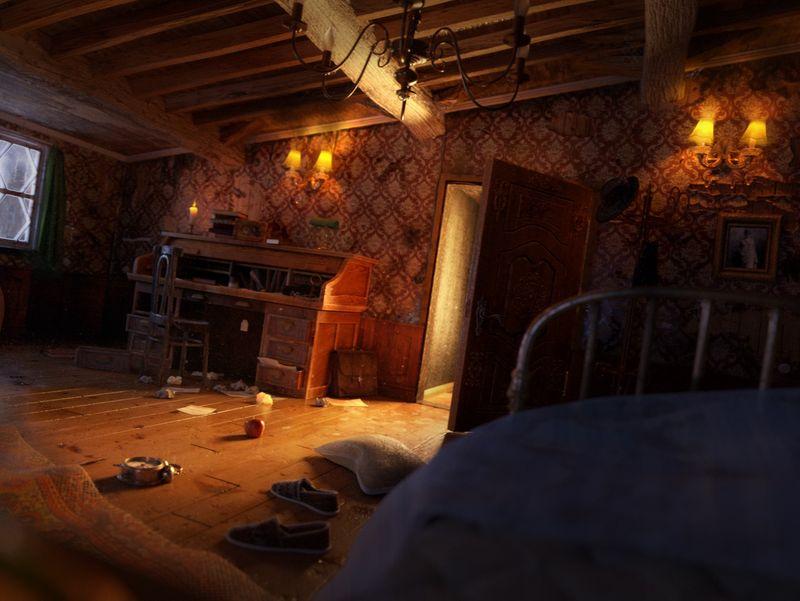 Gregor Samsa's Room