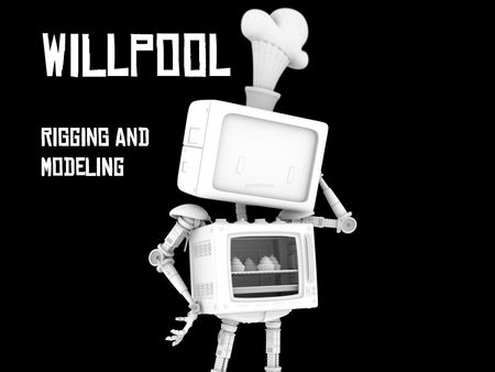WillPool - Rigging and Modeling