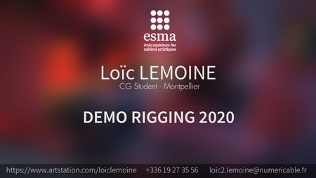 DEMOREEL RIGGING - 2020