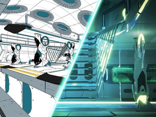 Sci-fi subway