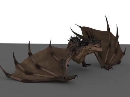 Dragon Animation Showreel