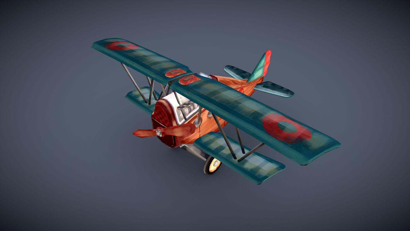 Kolev Lora Game Art Plane Pres3 Lora