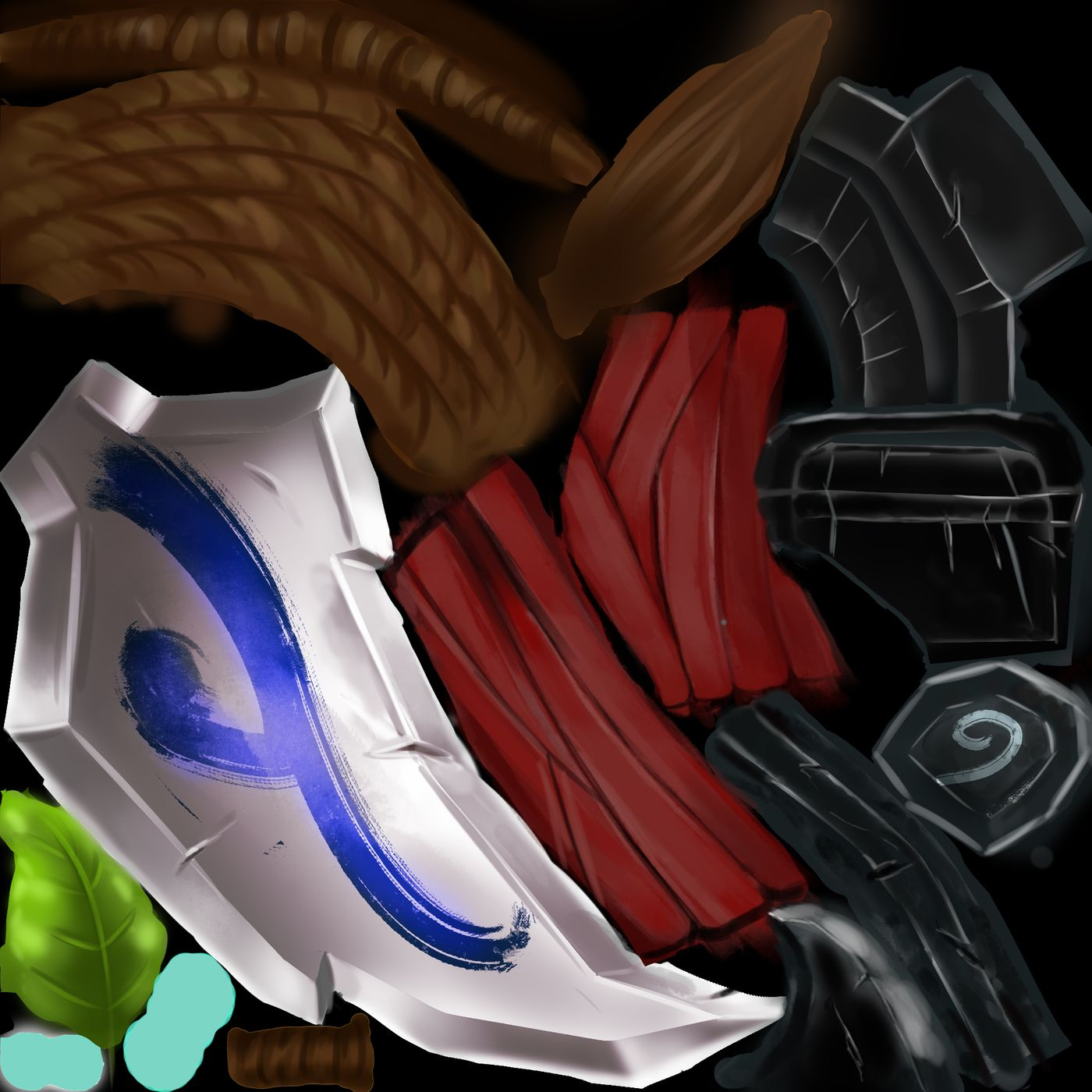 Kolev Lora Game Art Weapon Color Tex Lora