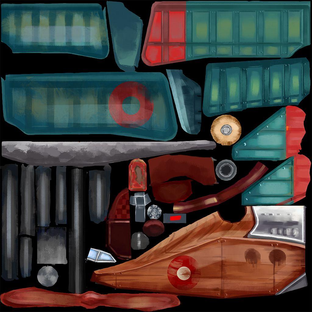 Kolev Lora Game Art Plane Color Tex Lora