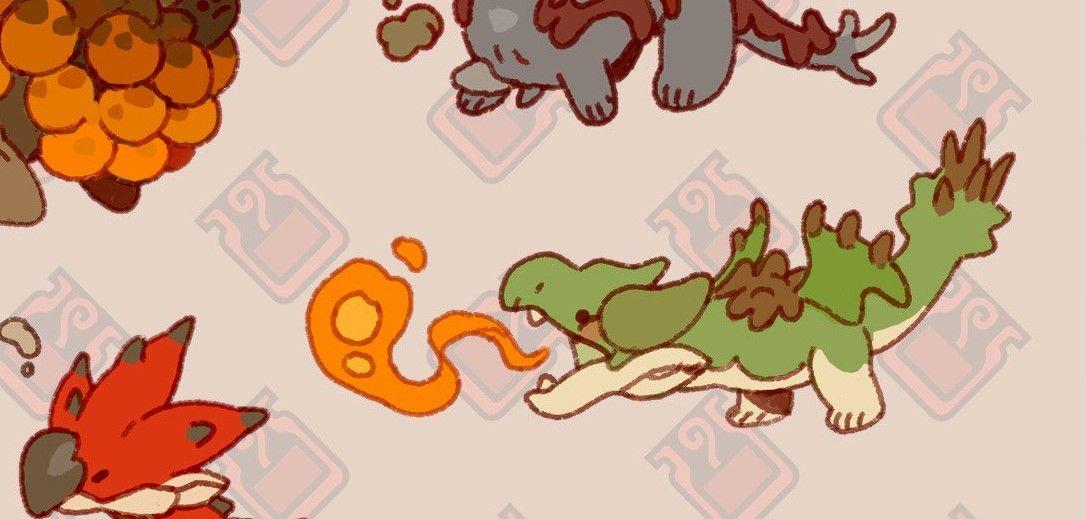 Alexandre Zedig Diboine Monster Hunter Monsters Lora