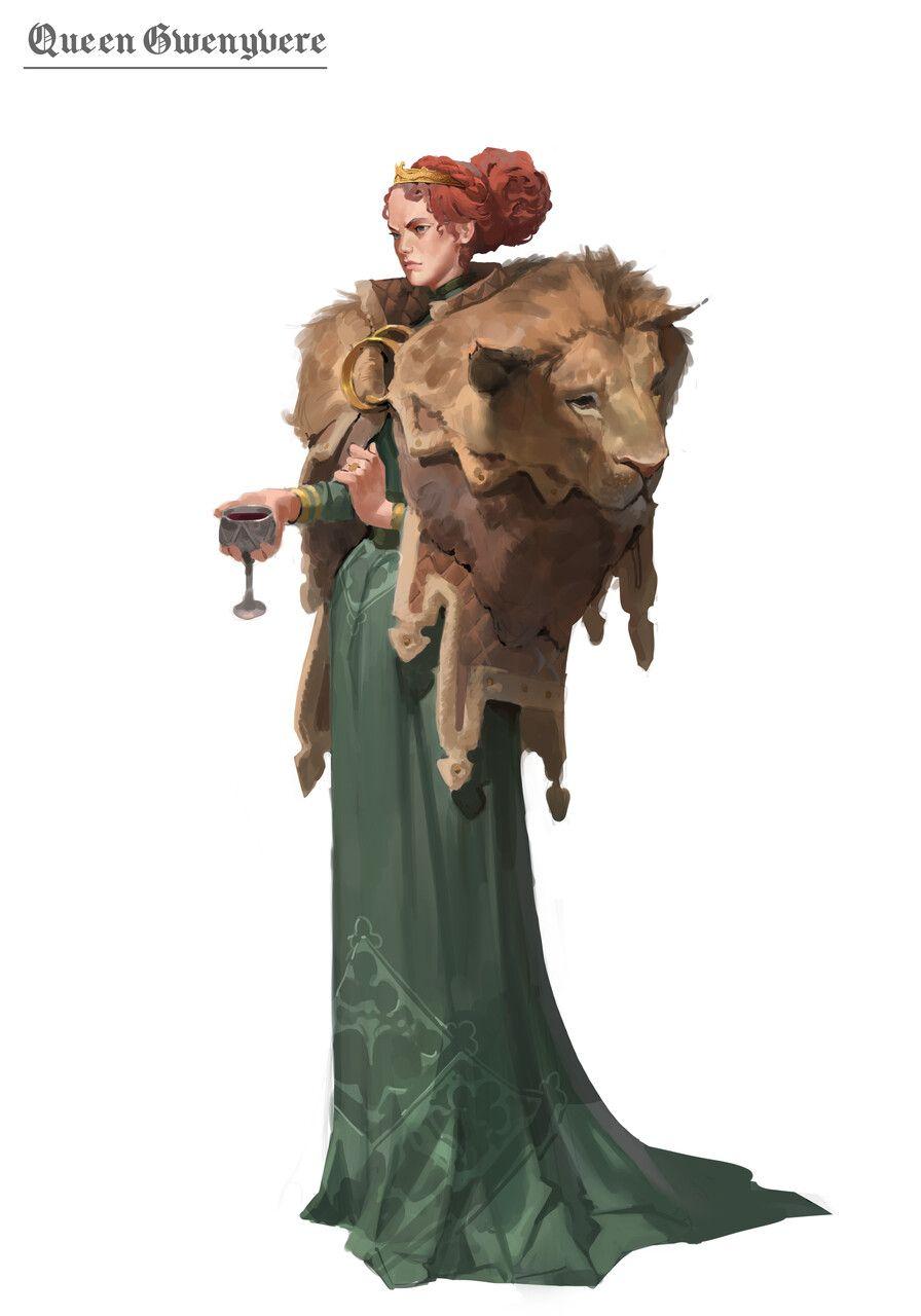 King Arthur Gwenyvere Lora