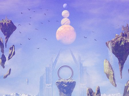 Fantasy Sky World - Portal to the Skies