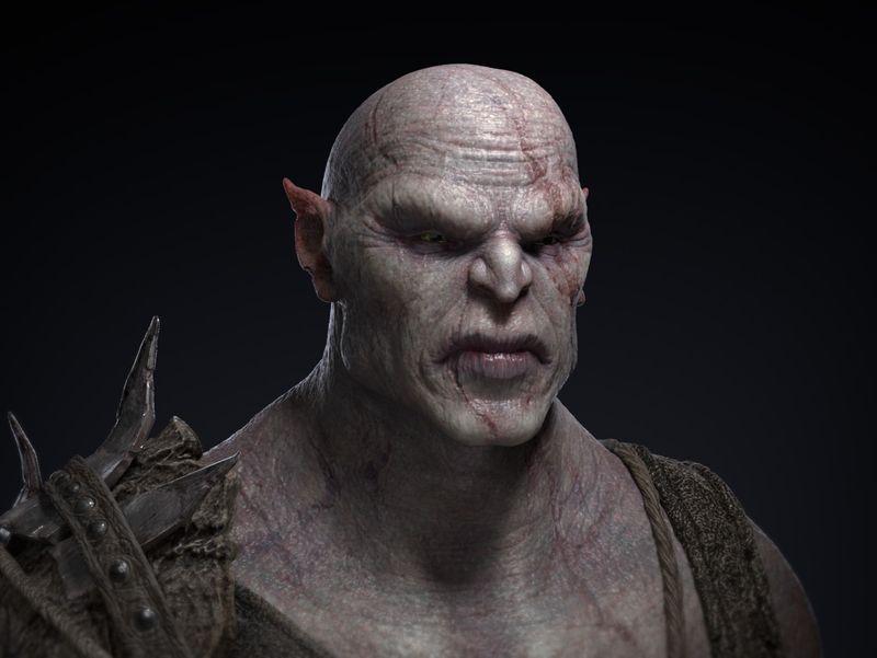 3D Orc model
