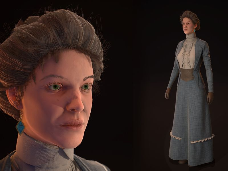 Anne Carwell 1890