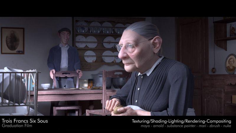 Louise Leblond Showreel 2019 Modeling-Texturing-Shading