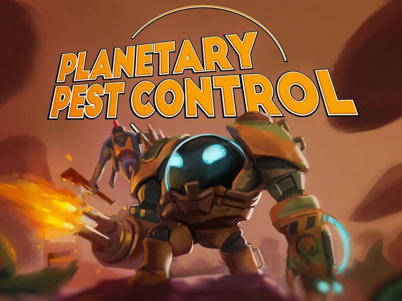 Planetary Pest Control - Art Breakdown
