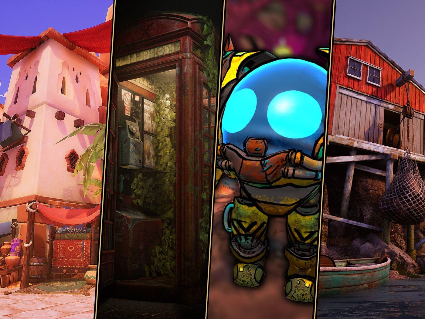 Real-time Game Art Showcase