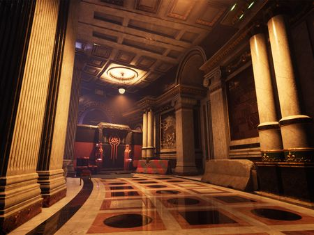 Autocracy - Atrium and Reception Areas