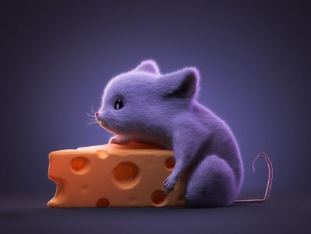MOUSE & CHEESE !