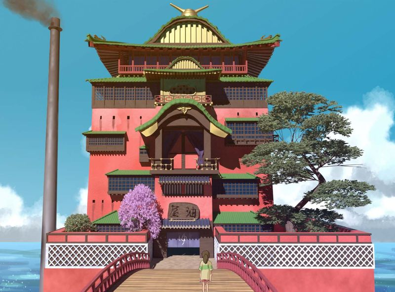 Spirited away Bathhouse