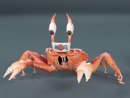 Master sushi Crab