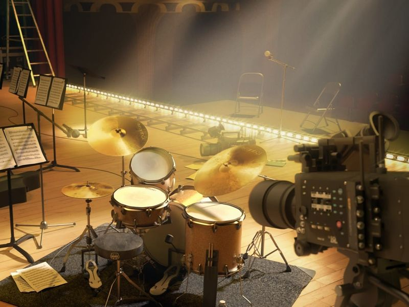 WHIPLASH movie set