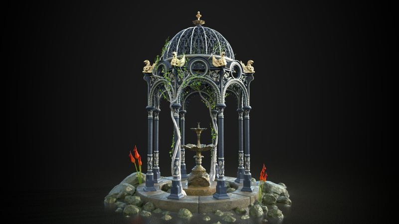 Victorian Gazebo / Pagoda