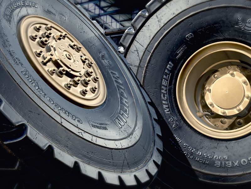 Truck Wheels - Subdivision Surface Modeling