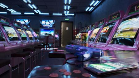 Still Life : Arcade Room