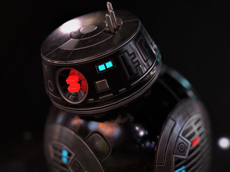 BB9 - Star Wars Droid Study