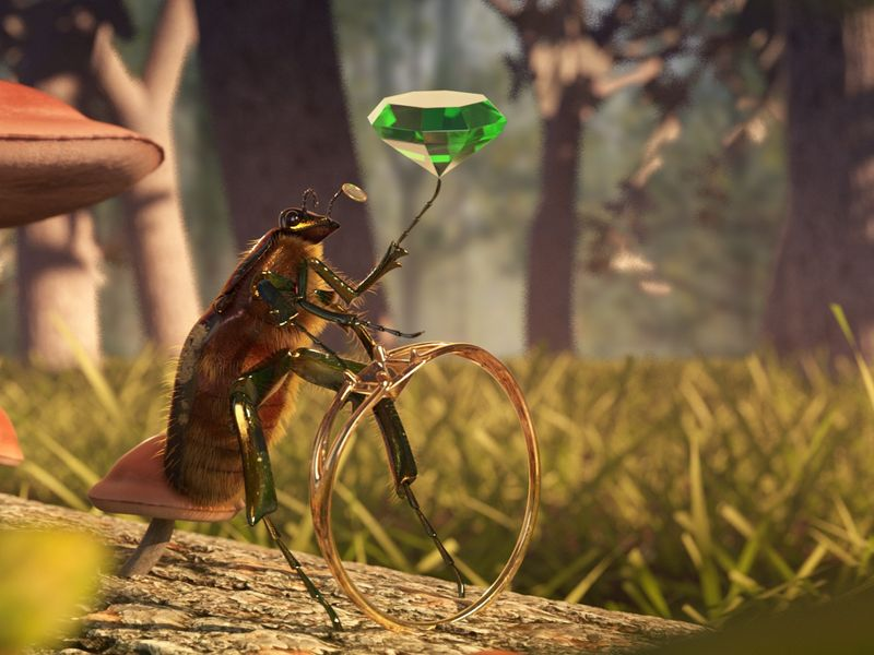 The Jeweler Insect
