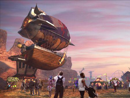 Warcraft amusement park