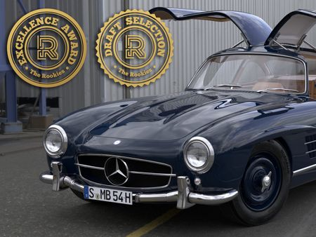Mercedes 300 SL Gullwing (1954)