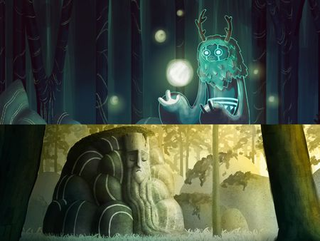 Concept art projects