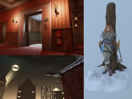 3D Environment and Character