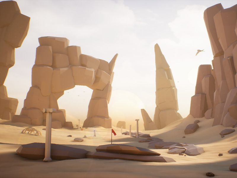 Desert LowPoly - Unreal Engine