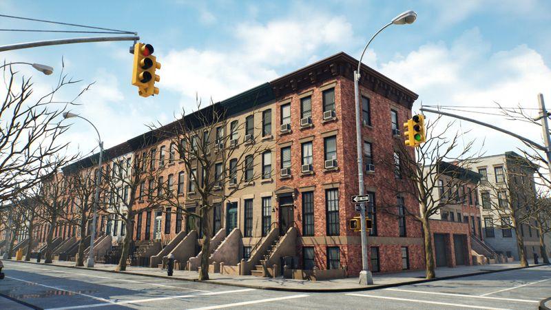 Brooklyn - Proceudral in Houdini