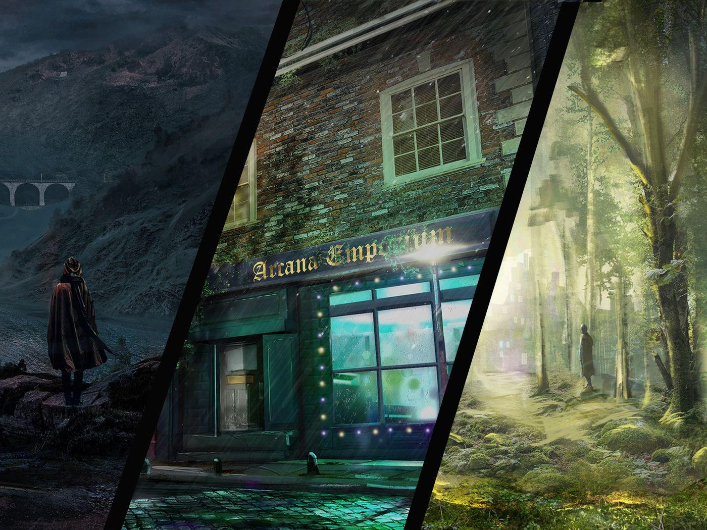 Urban Fantasy - Environment Concepts