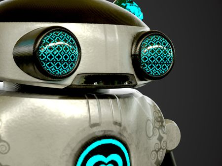 Eddie: The Cute Robot