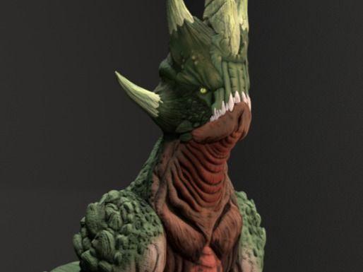 3D model Kaiju
