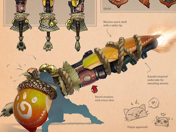 Monster Hunter Iceborne Design Contest