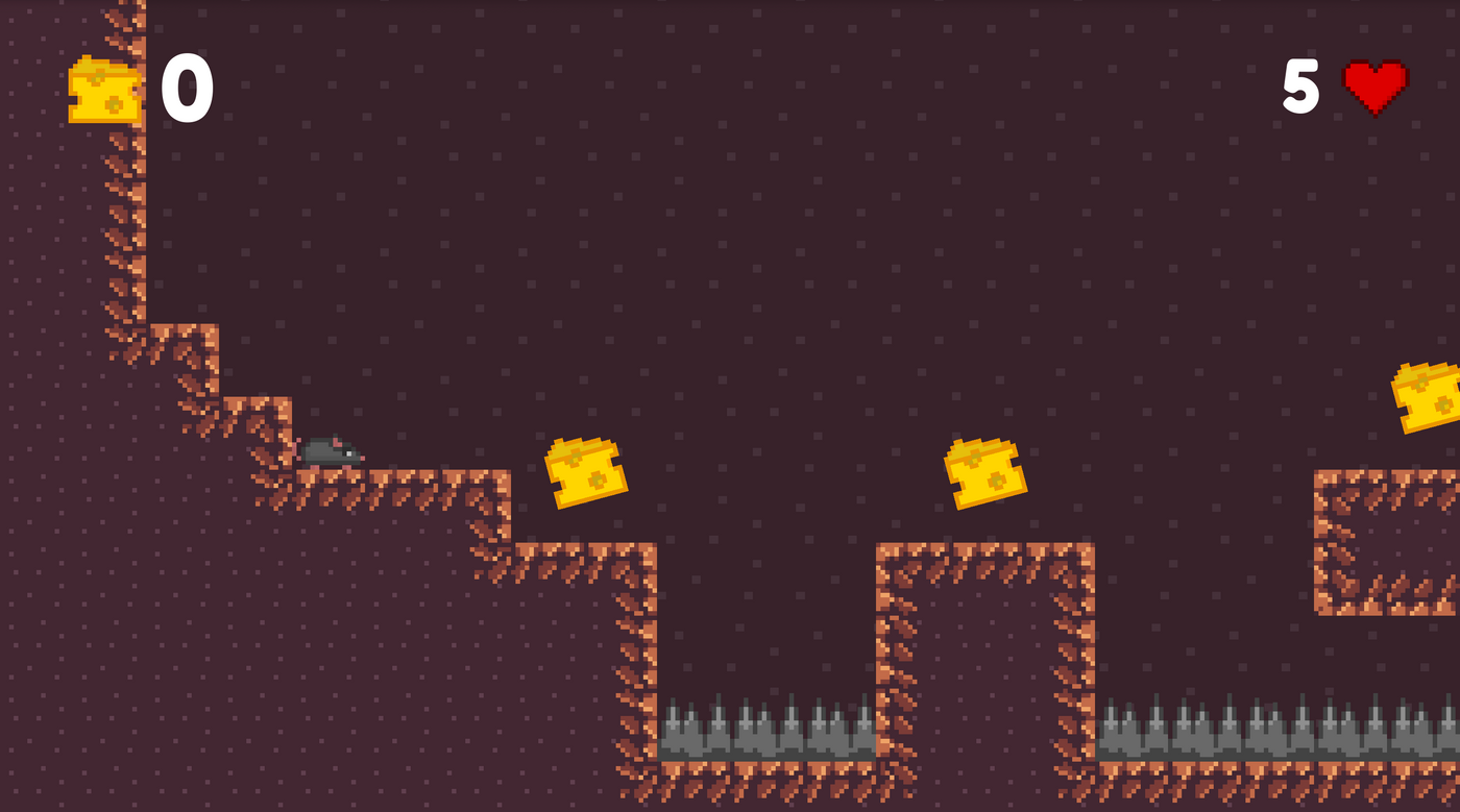 Cheese Hunt - a platformer game made with Godot