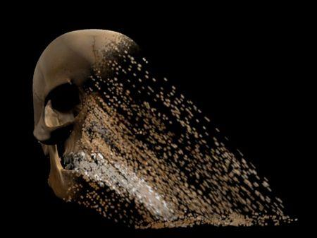 Skull disintegration