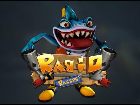 Rabid Racers- Shark Character