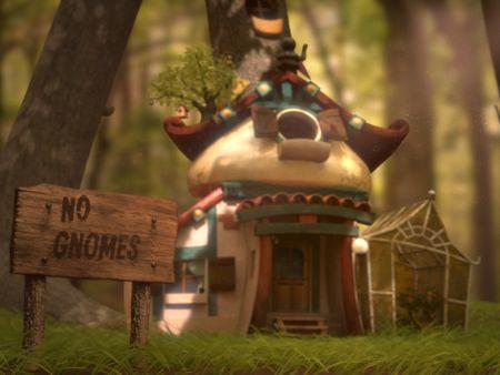 Tiny magical house - Animation