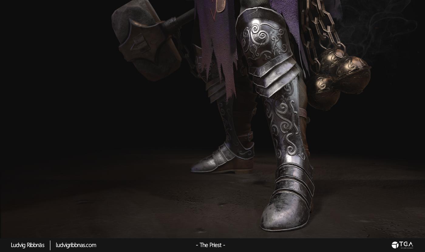 The Priest Feet Luribb