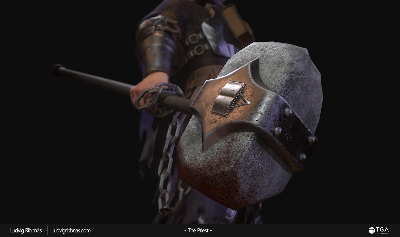 The Priest Hammer Luribb